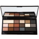 Makeup Revolution I ♥ Makeup Black Velvet paleta de sombras (16 Eyeshadows Inspired By Black Velvet) 22 g