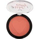 Makeup Revolution I ♥ Makeup I Want Candy! púderes arcpír árnyalat Flushing 3 g