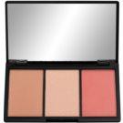 Makeup Revolution Iconic paleta do konturowania twarzy odcień Rave  11 g