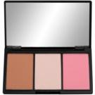 Makeup Revolution Iconic paleta do konturowania twarzy odcień Smoulder  11 g