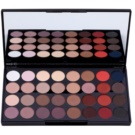 Makeup Revolution Flawless Matte 2 Eye Shadow Palette With Mirror (32 Ultra Professional Eyeshadows) 20 g