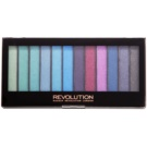 Makeup Revolution Mermaids Vs Unicorns paleta cieni do powiek  14 g