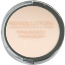 Makeup Revolution Pressed Powder puder w kompakcie odcień Porcelain 6,8 g