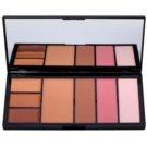 Makeup Revolution Protection Palette For The Entire Face Color Medium/Dark 19 g