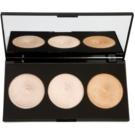 Makeup Revolution Radiance paleta rozjasňujících pudrů (3 Radiant Lights Highlighters) 15 g