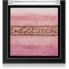 Makeup Revolution Shimmer Brick бронзер та освітлювач 2в1 відтінок Pink Kiss 7 гр