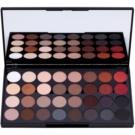 Makeup Revolution Flawless 2 paleta farduri de ochi cu oglinda mica (32 Ultra Prodessional Eyeshadows) 20 g