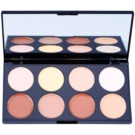 Makeup Revolution Ultra Cream Contour palete de cores para contorno de rosto  13 g