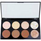 Makeup Revolution Ultra Contour paleta na kontury obličeje (Ultra Professional Contour Palette) 13 g