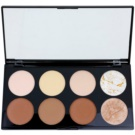 Makeup Revolution Ultra Contour paleta na kontúry tváre (Ultra Professional Contour Palette) 13 g