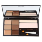 Makeup Revolution Ultra Brow paleta za ličenje obrvi odtenek Fair To Medium (The Ultimate Brow Enhancing Kit) 18 g