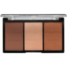 Makeup Revolution Ultra Sculpt & Contour paleta do konturowania twarzy odcień 04 Ultra Ligt/Medium 11 g