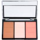 Makeup Revolution Ultra Sculpt & Contour paleta pentru contur facial culoare Ultra Fair C01 11 g