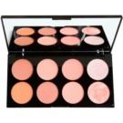 Makeup Revolution Ultra Blush paleta fard de obraz culoare Hot Spice 13 g