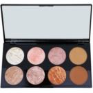 Makeup Revolution Ultra Blush arcpirosító paletta árnyalat Golden Sugar 13 g