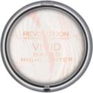 Makeup Revolution Vivid Baked rozjaśniający puder spiekany odcień Matte Lights 7,5 g