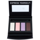 Manhattan Fab Fashionista Palette mit Lidschatten 1(The Fabulous) 7 g