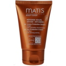 MATIS Paris Réponse Soleil Face Sun Cream  SPF 20 (Sun Protection Cream for Face with Tanning Activity) 50 ml