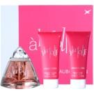 Mauboussin A la Folie ajándékszett I. Eau de Parfum 100 ml + tusfürdő gél 100 ml + testápoló tej 100 ml