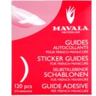 Mavala Accesories Stencils For French Manicure  120 pc