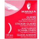 Mavala Accesories szablony do francuskiego manicure  120 szt.