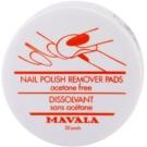 Mavala Accesories waciki do zmywania paznokci bez acetonu  30 szt.
