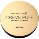 Max Factor Creme Puff Puder für alle Hauttypen Farbton 42 Deep Beige  21 g