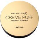 Max Factor Creme Puff polvos para todo tipo de pieles tono 42 Deep Beige  21 g