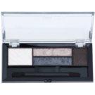 Max Factor Smokey Eye Drama Kit paleta cieni do powiek i cieni do brwi z aplikatorem odcień 02 Lavish Onyx 1,8 g