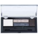 Max Factor Smokey Eye Drama Kit палетка тіней для повік та брів з аплікатором відтінок 02 Lavish Onyx 1,8 гр