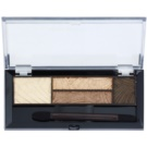 Max Factor Smokey Eye Drama Kit paleta farduri de pleoape si sprancene cu aplicator culoare 03 Sumptuous Golds 1,8 g