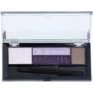 Max Factor Smokey Eye Drama Kit paleta cieni do powiek i cieni do brwi z aplikatorem odcień 04 Luxe Lilacs 1,8 g