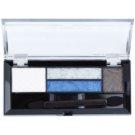 Max Factor Smokey Eye Drama Kit paleta cieni do powiek i cieni do brwi z aplikatorem odcień 06 Azure Allure 1,8 g
