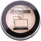 Maybelline AffiniMat pó para aspeto mate tom 10 Classic Ivory  (Oily and Combination Skin) 16 g