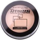 Maybelline AffiniMat pudr pro matný vzhled odstín 20 Nude Beige  16 g