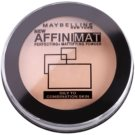 Maybelline AffiniMat polvos de acabado mate tono 30 Natural Beige (Oily and Combination Skin) 16 g