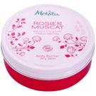 Melvita Hip Rose manteiga corporal nutritiva para pele muito seca   100 ml