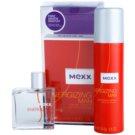 Mexx Energizing Man darilni set I. toaletna voda 50 ml + dezodorant v pršilu 150 ml