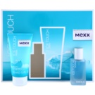 Mexx Ice Touch Woman 2014 darilni set III. toaletna voda 15 ml + gel za prhanje 50 ml