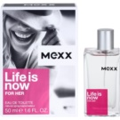 Mexx Life is Now for Her eau de toilette nőknek 50 ml