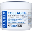 Mincer Pharma Collagen N° 300 crema anti-rid 50+ N° 302 (Marine Collagen, Idealift, Hyaluronic Acid) 50 ml