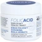 Mincer Pharma Folic Acid N° 450 hidratáló arckrém 40+ N° 451 (Folic Acid, Cranberry, White Tea) 50 ml