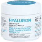 Mincer Pharma Hyaluron N° 400 vyhladzujúci krém 40+ N° 401 (Hyaluronic Acid, Rosa Damascena, Matrixyl) 50 ml
