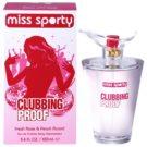 Miss Sporty Clubbing Proof Eau de Toilette für Damen 100 ml