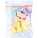 Missha Accessories esponja de maquillaje formato ahorro (Fresh Colorful Make Up Sponge) 25 ud