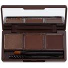 Missha 3 - Step Brow Kit Set Eyebrow Color No. 2 Red Brown 5,5 g