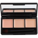 Missha Closing Cover Concealer Palette With Mirror And Applicator Color No.2 Honey Mix 3 x 1,3 g