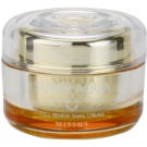 Missha Super Aqua Cell Renew Snail nährende Crem mit Snail Extract (Cream Contains 70% Snail Extract, Paraben Free) 47 ml