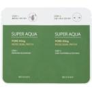 Missha Super Aqua Pore - Kling péče na rozšířené póry a černé tečky (Nose Dual Patch)