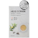 Missha Herb in Nude plátýnková maska se zpevňujícím účinkem  23 g
